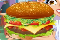 Play Cheeseburger Madness game