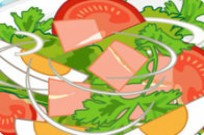 spielen Speedy Salat Cooking Creation Spiel