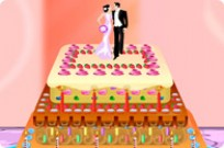 Play Cooking Wedding Cake game