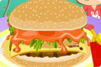 Play Deluxe Hamburger game
