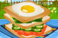 Play Sandwich Green game