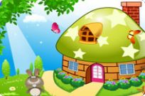 Play Decorate My Mushroom House game