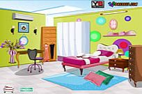 Bermain Bed Room Decor permainan