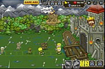 Play Knights vs Zombies game