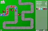 Play Bloons Tower Defense game