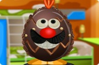 Egg Chocolate Decoration Game