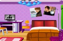 Justin Bieber Fan Room Decoration Game