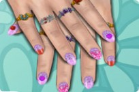 spielen Spring Flower Nails Spiel