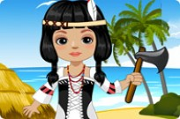 Play Native American Doll game