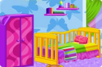 Play Interior Designer Baby Room game