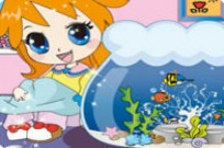 Play Cute Little Aquarium game