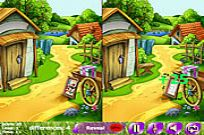 Play Bright Colors 5 Differences game