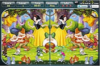 spielen Snow White - Spot the Difference Spiel