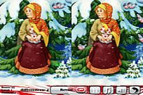 Play Funny New Year 5 Differences game