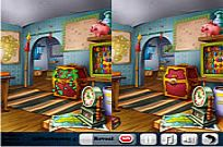 Play Happy Time 5 Differences game