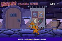 Play Scooby Doo Falling Stone game
