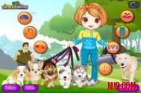 Play Cute Dog Walker game