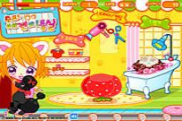 Play Sue's Dog Beauty Salon game
