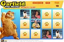 Play Garfield Memory Game game