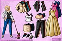 spielen Anime Girl And Dog Dressup Spiel