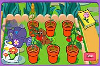 Play Dora's Magical Garden game