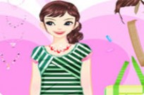 Play Colorful Shirts Dressup game
