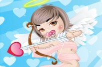 Play Cupid Baby Dressup game