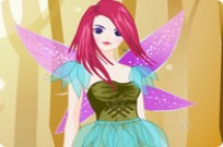 Play Beautiful Autumn Fairy Dress Up game