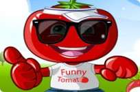 Play Funny Tomato Dress Up game