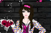 Play Dazzling Emo Styles game