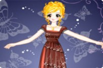 Play Mademoiselle Dressup game
