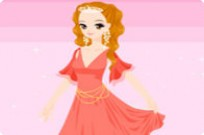 Play New Evening Gown Dressup game