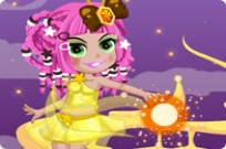 Play Magic Girl Dress Up game