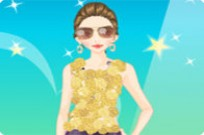 Play Ines Dress Up game