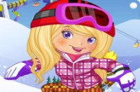 Play Snowboarder Girl game