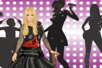 Play Rock Star Dress Up game