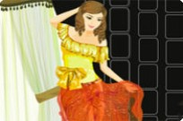 Play Shining Brightly Dress Up game