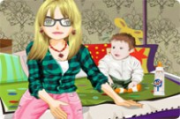 Play Baby Sitter Style game