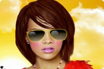 Play Rihanna Celebrity Makeover Game game