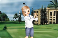 Play The Golfer Girl Dress Up Game game