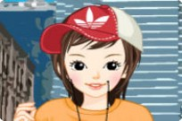 Play Los Angeles Dressup game