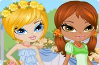 Play Beautiful Flower Girls game