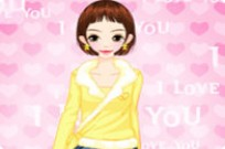 Play I Love You Dressup game