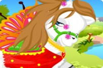 Pretty Pony Dress Up Game