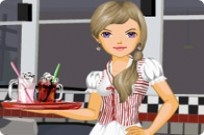 Play 4 Wheel Waitress game
