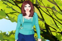 Play Fall Fashion Sweater Girl game