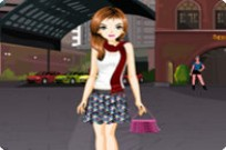 Play Beautiful Lady And Lovely Skirts Dress Up game