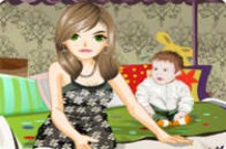 Play Baby Sitting Style game