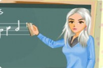 Play Music Teacher Fashion Styling game