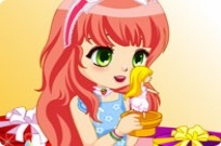 Play Surprise Party Dress Up game
